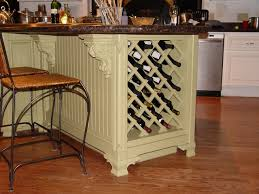wine rack kitchen cabinets
