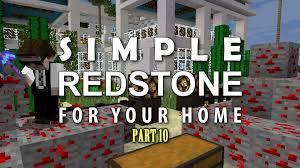 minecraft redstone for your home 10 redstone kitchen hidden