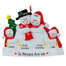 personalized grandparents ornaments gifts for grandparents