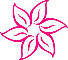 Famosos Flor Rosa Cool Clip Art at Clker.com - vector clip art online  @WE51