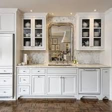 mirror paneled fridge design ideas