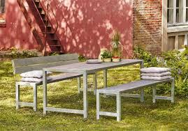 garten im quadrat moderne outdoor sitzgarnitur planken holz