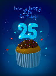 nice cake art card and 25 th funny animated birthday card for kids