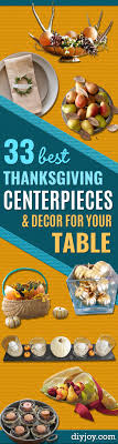 33 best thanksgiving centerpieces and decor for your table diy