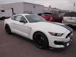 white mustang blue stripes 2016 mustang gt350 shelby gt350 white blue stripes available today