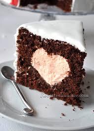 comment cuisiner un gateau au chocolat gâteau au chocolat coeur fourré à la crème recettes by hanane