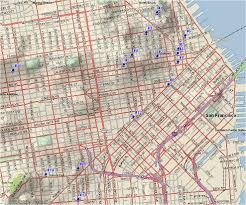San Francisco Walking Map by Climate Of San Francisco Narrative
