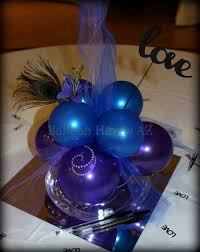 balloon centerpiece wedding centerpiece blue and purple balloon centerpiece archives