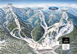 Utah Ski Resort Map by Ski Resorts San Bernardino Mountain Ski Resorts California Us