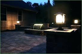 outdoor patio string lights ideas outdoor backyard string lights outdoor fence lighting solar fence
