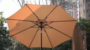 Aluminum Patio Umbrellas by Sundale Outdoor 9 Feet Aluminum Patio Umbrella With Crank And Push