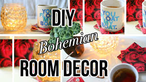 diy inspired room decor bohemian style youtube