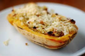thanksgiving entree for vegetarians and nut stuffed delicata