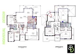 two story house plans family homes large home design plan