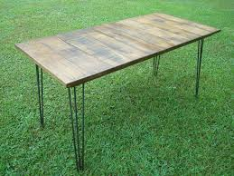 Conversing Dining Table Hand Crafted Dining Table And Benches Reclaimed White Oak With