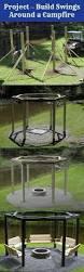 make a backyard swing set around fire pit diy u0026 gift ideas
