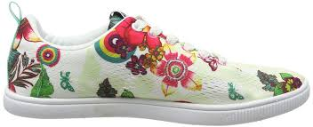 Desigual Home Decor by Desigual Shoes Fun Eva T Women U0027s Low Top Sneakers Amazon Co Uk