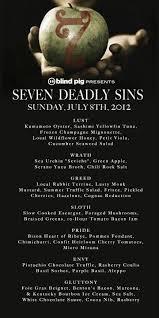 The Blind Pig Louisville Ky Blind Pig Supper Club U0027s Seven Deadly Sins Dinner In Asheville Nc