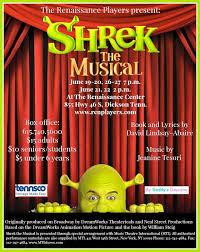 reviews renaissance players u0027 shrek musical