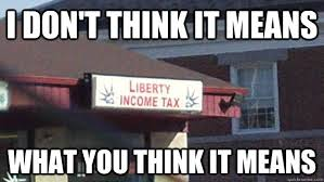 Income Tax Meme - liberty income tax memes quickmeme