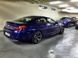 2015 bmw m6 gran coupe san marino blue