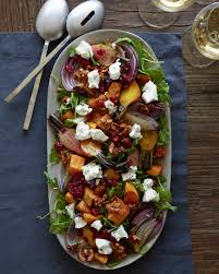 greek thanksgiving roasted butternut squash salad what u0027s gaby cooking