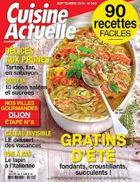 magazine cuisine actuelle magazine cuisine actuelle trendy cuisine actuelle n septembre with