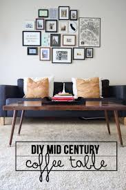 coffee table best 25 mid century coffee table ideas on pinterest