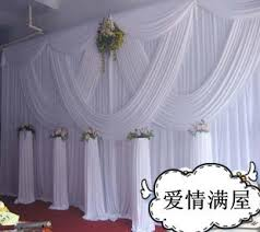 wedding backdrop to buy aliexpress buy white 10ft 20ft wedding stage decoration
