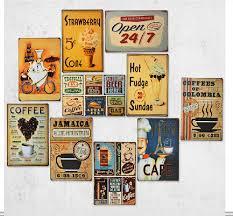 deco retro cuisine deco vintage murale amandiks