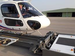 mototok helimo electric tug for skidded helicopters