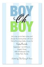 baby boy shower invitations baby shower invite for baby boy 10220 oh boy baby shower