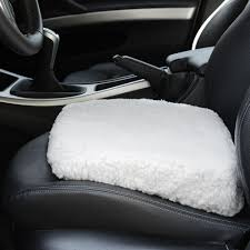 car boost seat cushion white fleece walmart com