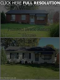 100 painting brick house exterior appealing white painted