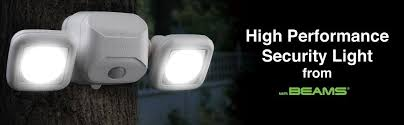 outdoor security motion lights mr beams mb3000 high performance wireless battery powered motion