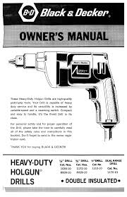 black u0026 decker drill 1172 10 user guide manualsonline com