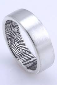 guys wedding bands 16 alternative wedding rings for guys fingerprint wedding bands