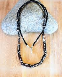 long mens necklace images Black beaded men necklace african men long necklace aftcra jpg