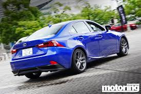 sporty lexus blue 2014 lexus is350 u2013 first drive motoring middle east car news
