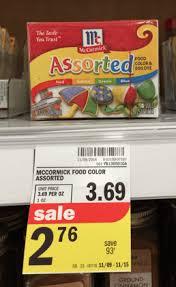 meijer deals on mccormick seasonings extracts u0026 food coloring