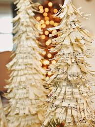 Christmas Tree Wreath Form - how to make sheet music christmas trees hgtv
