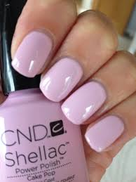 shellac cake pop amazing colour for summer nail designs