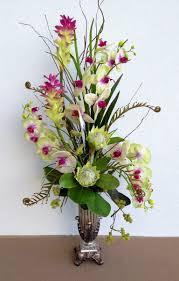 Artificial Flower Decorations For Home Orkide Tek Dal Floral Flower Arrangements And Floral Arrangement