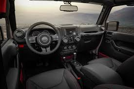 2018 jeep wrangler fca further teases 2018 jeep wrangler with newly released interior