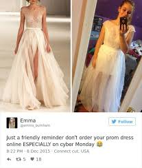 teens learn the hard way not to buy prom dresses online 26 photos