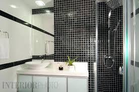 studio bathroom ideas beautiful black and white condo interior design best of bathroom