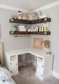 Wood Computer Desk Plans Free by Diy Corner Desk Shanty 2 Chic