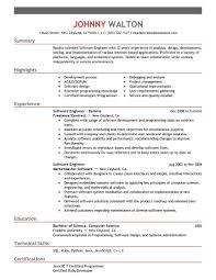 software engineer resume best remote software engineer resume exle livecareer