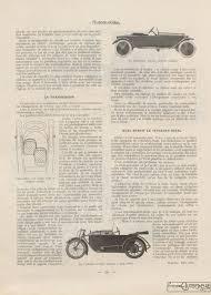 bureau des autos sion les cyclecars automobilia du 15 02 1920 patrimoine automobile com