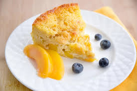 Cottage Cheese Dessert by Peaches And Cream Cottage Cheese Breakfast Cake